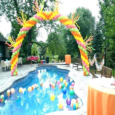 kids pool party planner