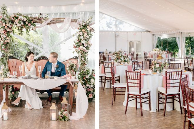 wedding-decor-ideas-blush-white-tones-sweetheart-arch
