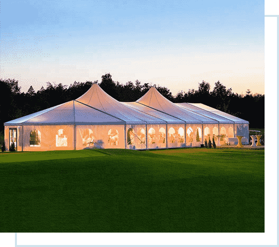 affordable marquee tent hire
