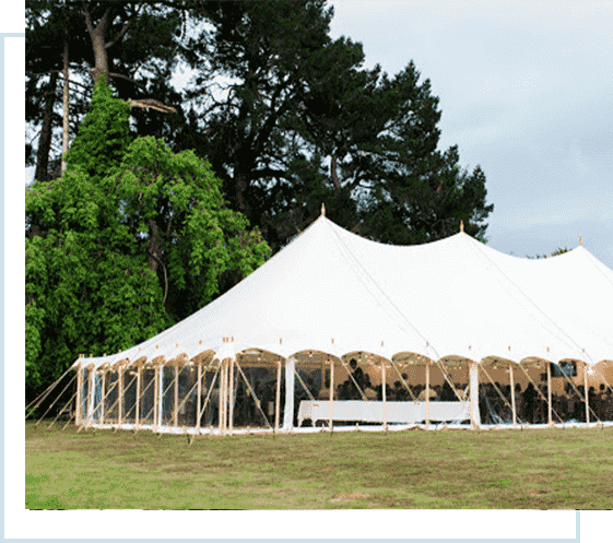 marquee tent hire