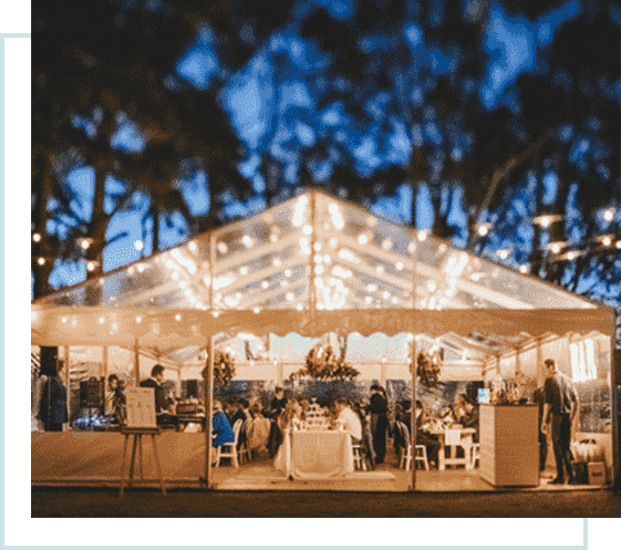 marquee wedding tent hire